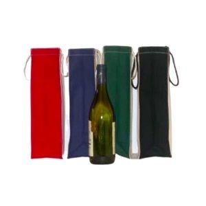 Handmade Canvas Wine Bags